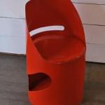 Chaise en Carton Laqué de Jean-Louis Avril