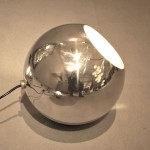 Spot en Aluminium Poli de Gino Sarfatti, Edition Arteluce