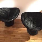 Paire de Fauteuils de Egon Eiermann, Modèle E20