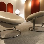 Pair of armchairs by Luigi Colani