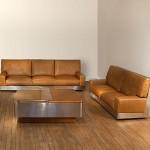 Set sofas et coffee table by Galerie Maison et Jardin.