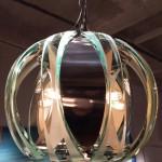 Suspension dans le style de Fontana Arte