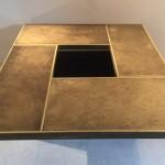 Table Basse à système en Laiton