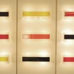 Série de 9 Appliques de Boris Lacroix, Edition Luminalite