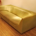Canapé en Cuir de Jorge Salszupin