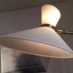 Rare lampadaire de Jacques Biny, Edition Luminalite