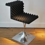Paire de chaises M400 de Roger Tallon edition Lacloche