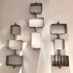 Ensemble de 9 étagères murales de Xavier-Féal