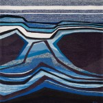 Tapestry « Lumière oblique » by Danièle Raimbault-Saerens