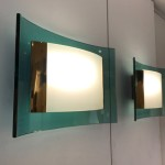 Rare pair of Max Ingrand wall lights