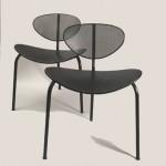 Paire de chaises Nagasaki de Mathieu Matégot
