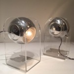 Pair of lamps / wall lights model 540 p by Gino Sarfatti
