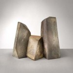 Ceramic triptych by Mireille Moser