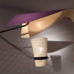 Exceptionnelle applique de Jacques Biny modèle 163, édition Luminalite