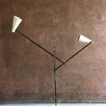 Exceptionnel lampadaire de Franco Buzzi edtion O'luce