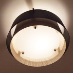 Small ceiling lamp by Jean-Boris Lacroix