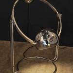 Grande Lampe Chromée Edition Verre Lumière