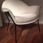 Paire de fauteuils de Claude Vassal