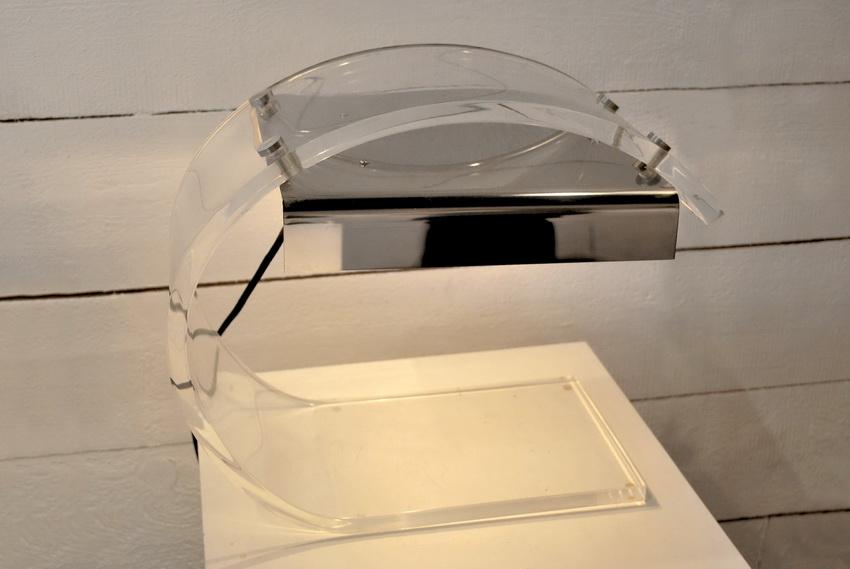 lampe de bureau des ann es 70 de charpentier. Black Bedroom Furniture Sets. Home Design Ideas
