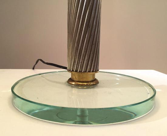 belle lampe de pietro chiesa edition fontana arte. Black Bedroom Furniture Sets. Home Design Ideas