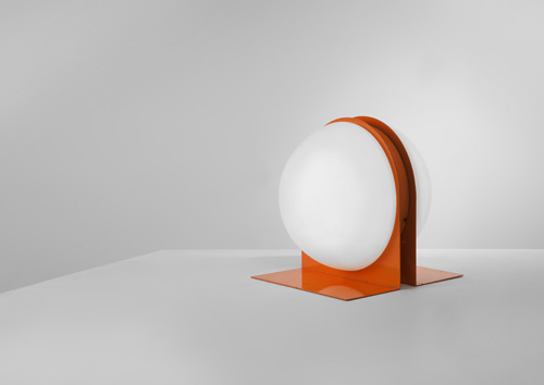 Lampe_Ben_Swildens_Metal_laque_orange_verre_opalin.jpg