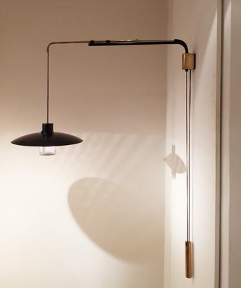 applique potence modele 186 de jacques biny. Black Bedroom Furniture Sets. Home Design Ideas