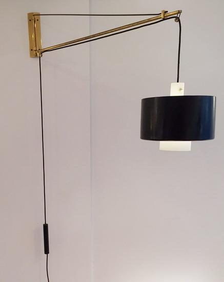 applique potence de stilnovo. Black Bedroom Furniture Sets. Home Design Ideas