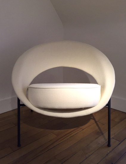 fauteuil saturne de genevi ve dangles et christian defrance edition burov. Black Bedroom Furniture Sets. Home Design Ideas