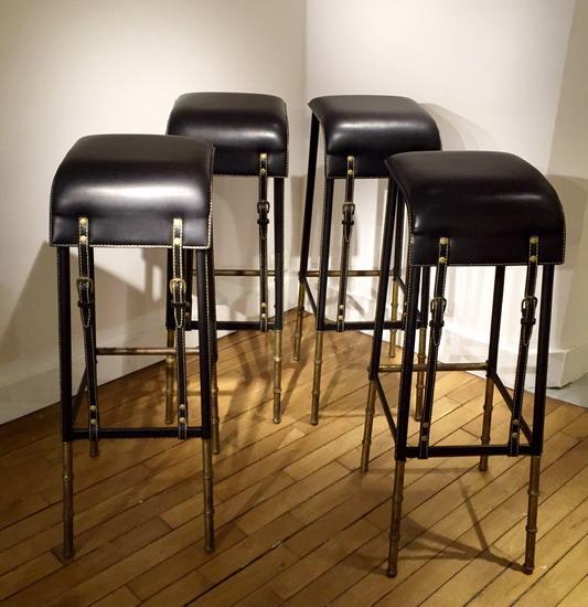 1_4_tabourets_Jacques_Adnet_cuir_galerie_meubles_et_lumieres.jpg